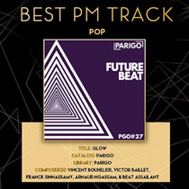 Parigo win Best Pop Track at the PMC Awards!