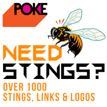 POKE - First Stop For Stings, Links and Logos