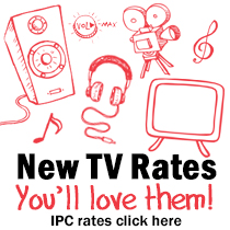 New Independent Production Company (IPC) TV Rates Prove Popular!