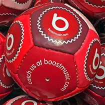 Boost Music Footballs