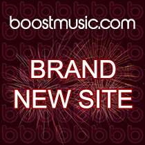New BoostMusic.com website
